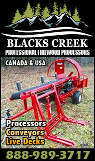 Blacks Creek - Firewood Processors
