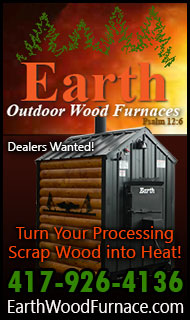 Earth Wood Furnaces - Turn Logging Scrap into Heat!