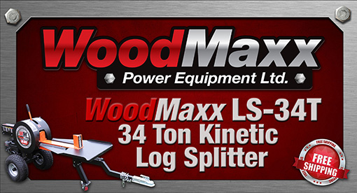 WoodMaxx Pro Firewood Processing Equipment